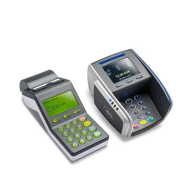 Contactloze Toonbank betaalautomaat met Merchant Unit