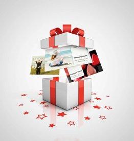 Een eigen cadeaukaart uitgeven?