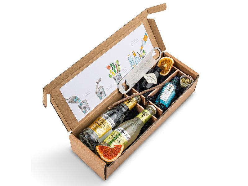 Hendrick's & Bombay Sapphire Gin tonic box