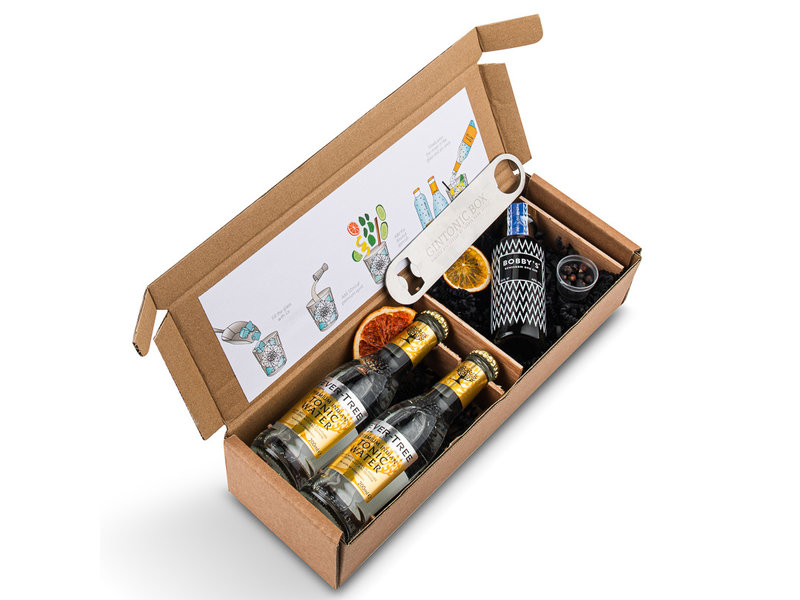 Bobbys Gin Mini Geschenkpackung