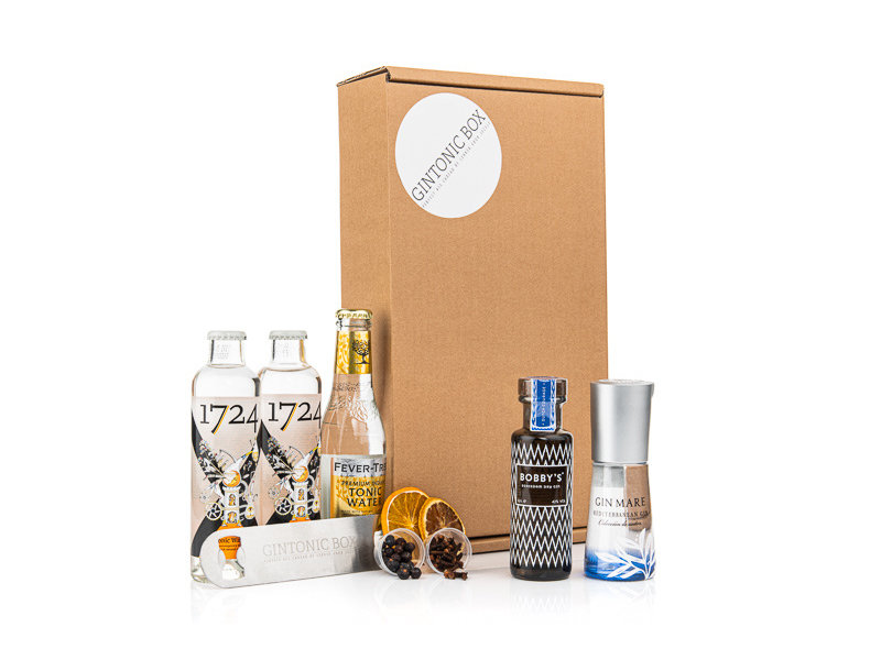 Bobby's Gin & Gin Mare giftbox