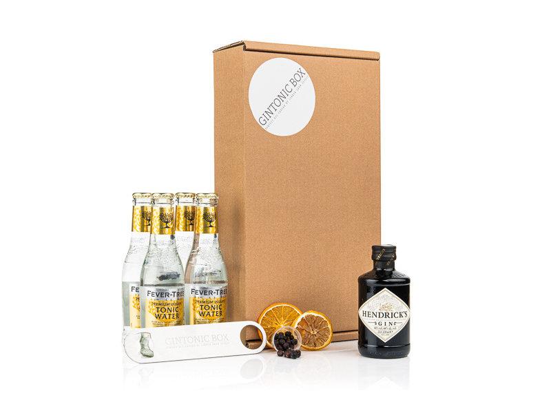 hendricks Hendrick's gin & Fever Tree tonic