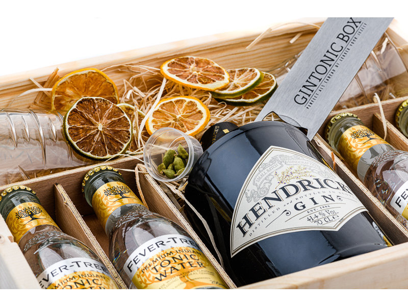 Hendricks Gin & Fever Tree Tonic