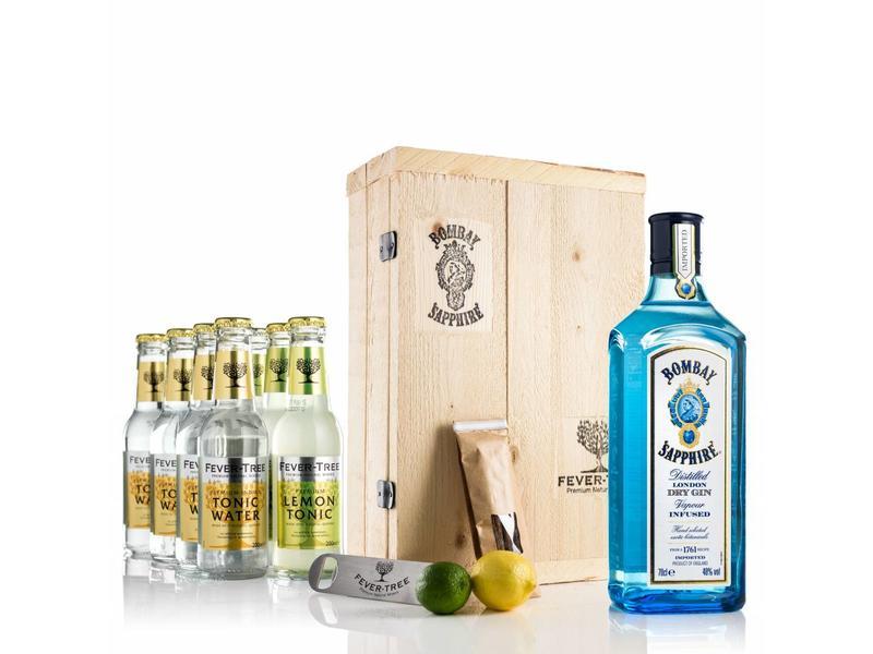 Bombay Sapphire Gin & Zitrone Tonic