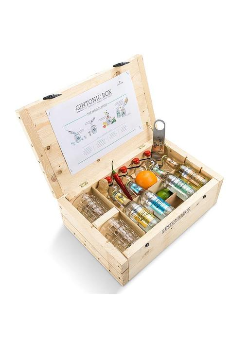 V2C gin miniatuur giftbox