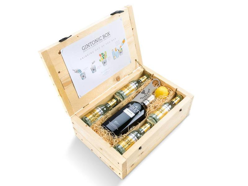 Nolets Silver Dry Gin Tonic Box