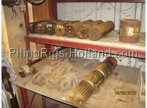 American Quantity of Parts American Hoist 7250 and 5299/599