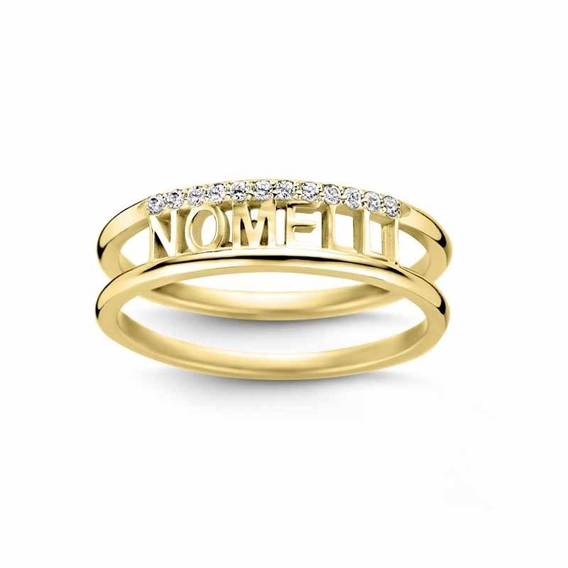 Nomelli Jewelry Nomi 88-1113 14 krt gouden ring