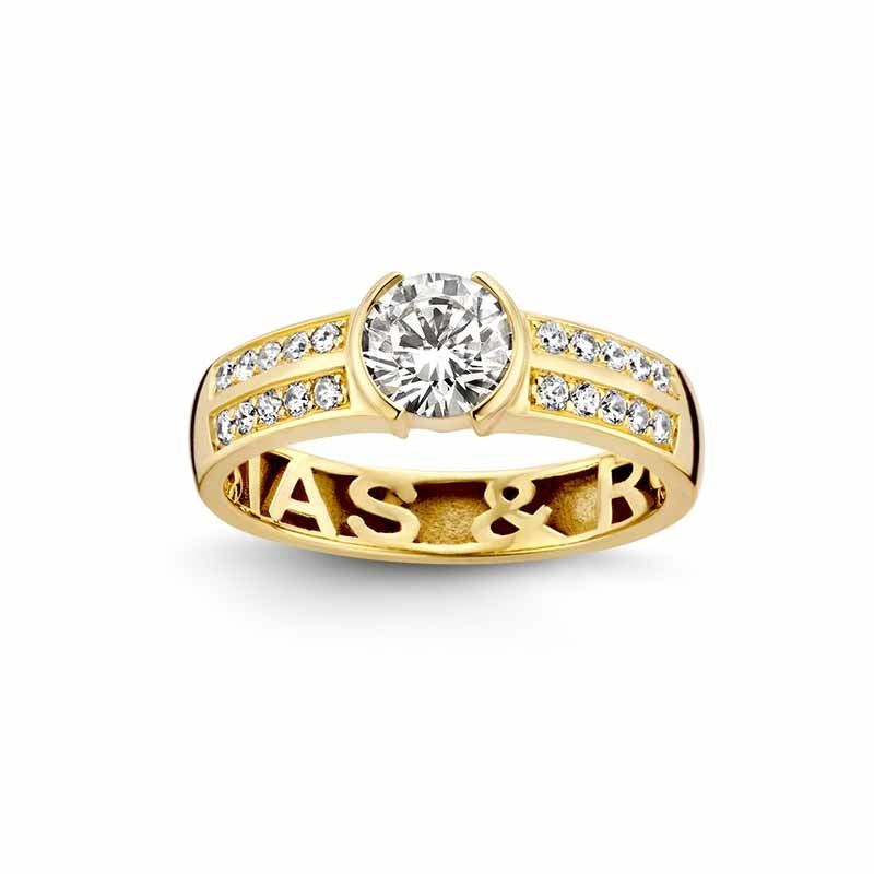 Nomelli Jewelry Gioia 88-2200 Gouden ring