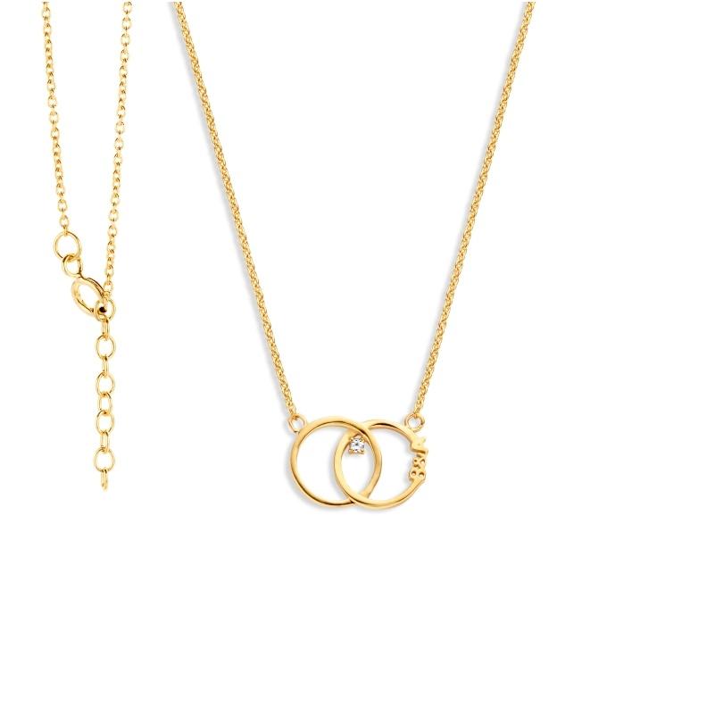 Nomelli Jewelry Collier Iniziali 88-1305 Goud