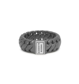 Buddha to Buddha 542BRS Ben Small Ring Black Rhodium Silver
