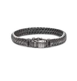 Buddha to Buddha J070BRS Ben XS Bracelet Black Rhodium Silver