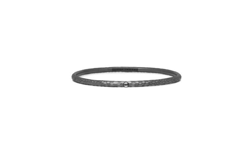 Buddha to Buddha 305 Dunia Ben Hammered Black Bracelet