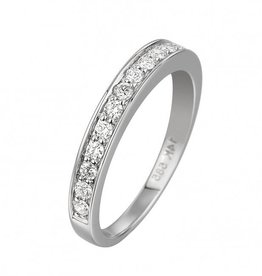 14 krt Goud Collectie GA835 WG Diamanten ring