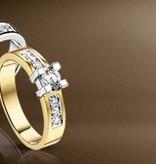 14 krt Goud Collectie Special Diamanten ring