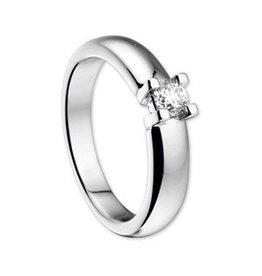 14 krt Goud Collectie 0,25crt Diamanten ring