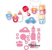 Marianne Design Cutting  and embossing die, Eline's baby stuff