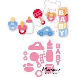 Marianne Design matrices de coupe, les bébés de Eline