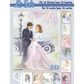 Bilder, 3D Bilder und ausgestanzte Teile usw... A5, avec le mariage des images - retour en stock!