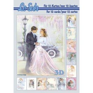 Bilder, 3D Bilder und ausgestanzte Teile usw... A5, met foto's bruiloft - terug in voorraad!