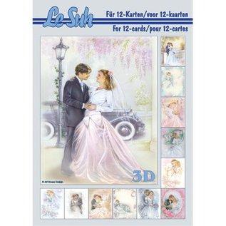 Bilder, 3D Bilder und ausgestanzte Teile usw... A5, med bilder bryllup