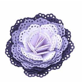 EK Succes, Martha Stewart EK Punch 3D dimensionel mellemlægsserviet / 3D blomst