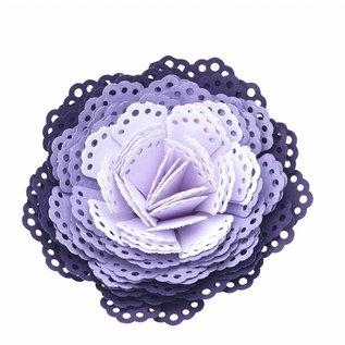EK Succes, Martha Stewart EK Punch 3D dimensional doily / 3D flower