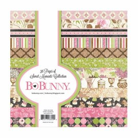 BO BUNNY diseñador de papel, 15,5 x 15,5 cm
