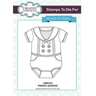 CREATIVE EXPRESSIONS und COUTURE CREATIONS Rubber stamp, baby