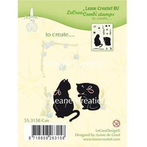 Leane Creatief - Lea'bilities und By Lene timbre Transparent: Cat