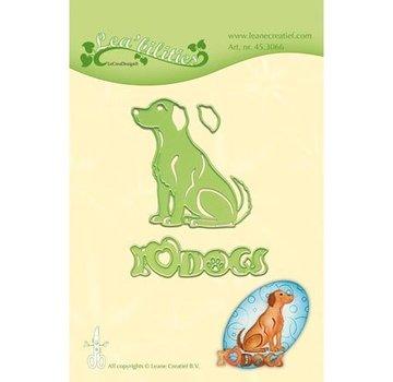 Leane Creatief - Lea'bilities und By Lene stampi di taglio: Dog