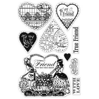 Stempel / Stamp: Transparent Transparante stempels, Friendster Jij bent de beste