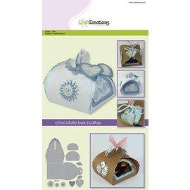 Crealies und CraftEmotions Stanzschablone: Schachtel