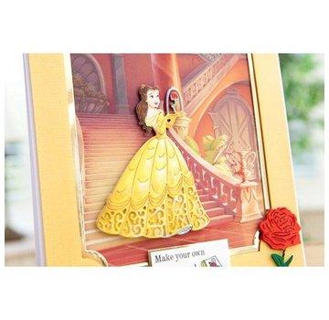 DISNEY Fustelle SET: Disney + Stamp incantata Belle viso