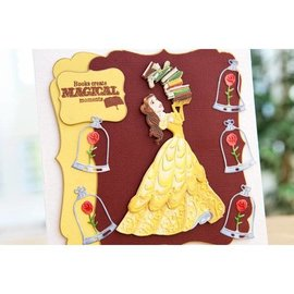 DISNEY Cutting dies SET: Disney + stamp Princess Fairy Facial