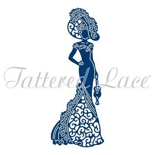 Tattered Lace Stansning skabelon: Tattered Lace Eliza - kun få til rådighed!