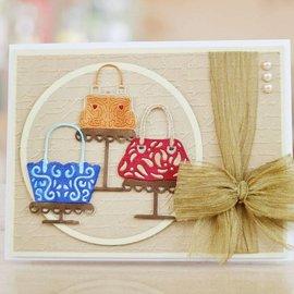 Tattered Lace Modèle de poinçonnage: loques Sac à main en dentelle Boutique - seul disponible!