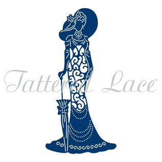 Tattered Lace Ponsen sjabloon: flarden Lace Mary