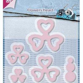 Joy!Crafts / Jeanine´s Art, Hobby Solutions Dies /  troqueles de corte, flor del corazón de Mery