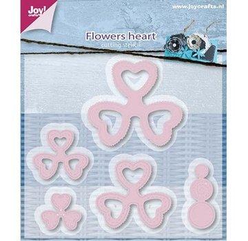 Joy!Crafts / Jeanine´s Art, Hobby Solutions Dies /  stampi da taglio, fiore il cuore di Mery