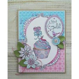 Stempel / Stamp: Transparent timbre transparent: Doodle Cupcake