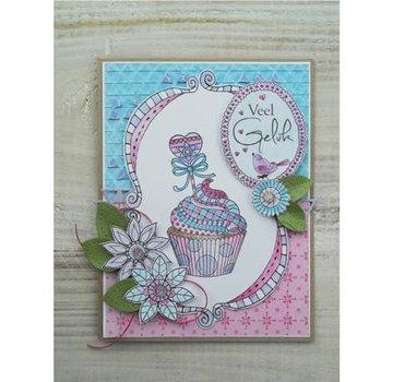 Stempel / Stamp: Transparent timbro trasparente: Doodle Cupcake