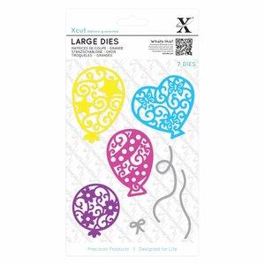 Docrafts / X-Cut Cutting dies: Balloons