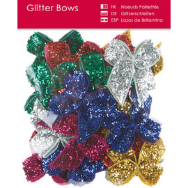 BLUMEN (MINI) UND ACCESOIRES Glitter bucles