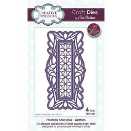CREATIVE EXPRESSIONS und COUTURE CREATIONS stampi di taglio: cornice decorativa