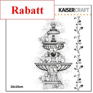 Kaisercraft und K&Company Transparante stempels, waterputten