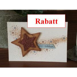 Karten und Scrapbooking Papier, Papier blöcke cartón brillo, 10 hojas de 280g / m², A4, de color marrón claro