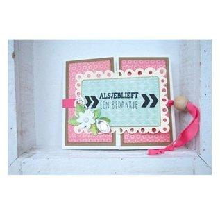 Marianne Design Ponsen sjabloon: Label