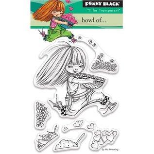 Penny Black Transparante stempels, A7: Meisje met hart