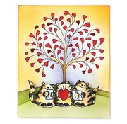Penny Black Transparent stamps, A7: Cat with Love